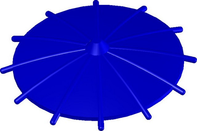 Japanese Umbrella -Blue