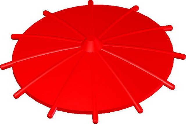 Japanese Umbrella -Red