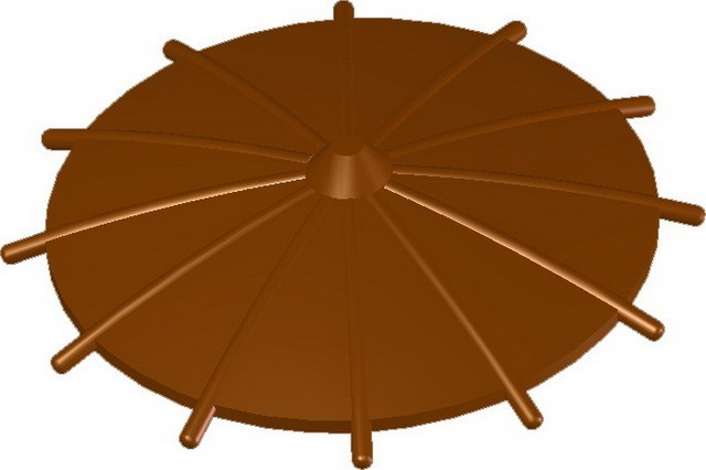 Japanese Umbrella -Brown