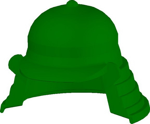 Samurai Headgear (B) -Green