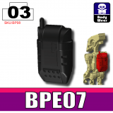 Black BPE07 Backpack