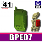 Tank Green BPE07 Backpack