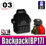 Black BP17 Backpack