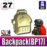 Tan BP17 Backpack