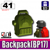 Tank Green BP17 Backpack