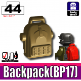 Dark Tan BP17 Backpack