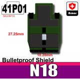 (41)Tank Green_Bulletproof Shield (N18)-P01