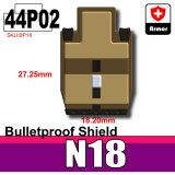 (44)Dark Tan_Bulletproof Shield (N18)-P02