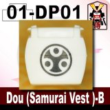 (01)White_Dou (Samurai Vest )-B-(Printed parts-DP01)