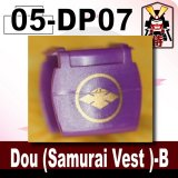 (05)Purple_Dou (Samurai Vest )-B-(Printed parts-DP06)