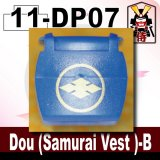 (11)Blue_Dou (Samurai Vest )-B-(Printed parts-DP07)