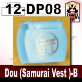 (12)Medium Blue_Dou (Samurai Vest )-B-(Printed parts-DP08)