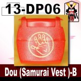(13)Red_Dou (Samurai Vest )-B-(Printed parts-DP06)