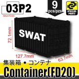 (03)Black_Container (FD20)-SWAT
