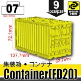 (07)Yellow_Container (FD20)