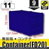 (11)Blue_Container (FD20)