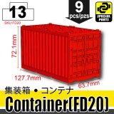 (13) Red_Container(FD20)