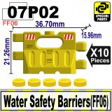 (07P02)Yellow_Water Safety Barriers(FF06)