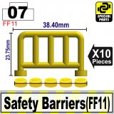 (07)Yellow_Safety Barriers(FF11)