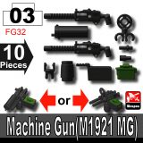 (03)Black_Machine Gun(M1922 MG)