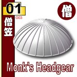 (01)White_Monk's Headgear