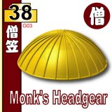 (38)Pearl Gold_Monk's Headgear