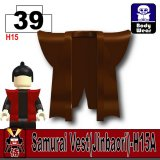 (39)Dark Brown_Samurai Vest(Jinbaori)-H15