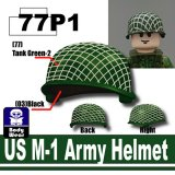 SP Green_US M-1 Army Helmet-P1