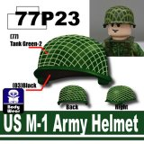 SP Green_US M-1 Army Helmet-P23