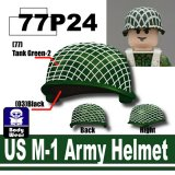 SP Green_US M-1 Army Helmet-P24