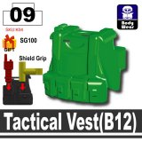 (09) Green_Tactical Vest(B12)