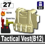 (27)Tan_Tactical Vest(B12)