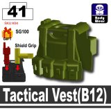 (41)Tank Green_Tactical Vest(B12)
