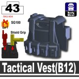 Tactical Vest(B12) -Dark Blue Gray
