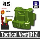 (45)Iron Green_Tactical Vest(B12)