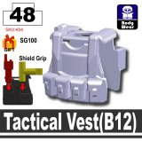 (48)Light Silver_Tactical Vest(B12)