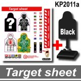 Target Sheets Stickers KP2011a