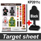 Target Sheets Stickers KP2011c