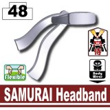 Light Silver SAMURAI Headband