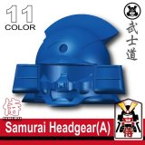 (11)Blue_Samurai Headgear (A)
