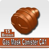 Brown_Gas Mask Canister CA1