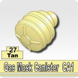 Tan_Gas Mask Canister CA1
