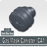 Dark Blue Gray_Gas Mask Canister CA1
