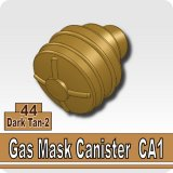 Dark Tan-2_Gas Mask Canister CA1