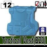 (12)Medium Blue_Tactical Vest(B20)