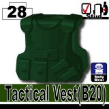 (28)Dark Green_Tactical Vest(B20)