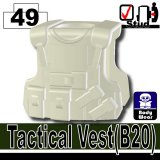 (49)Creamy White_Tactical Vest(B20)