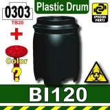 Black_BI120(Plastic Drum)