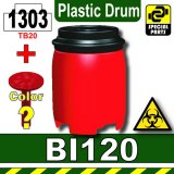 Red_BI120(Plastic Drum)