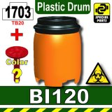 Orange_BI120(Plastic Drum)